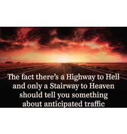 Fridge Magnet Highway to hell