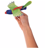 Soaring Rainbow Lorikeet Glider