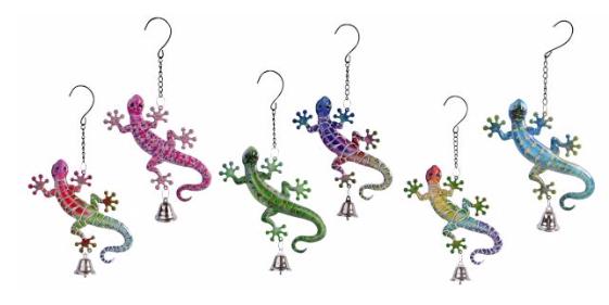 Garden Bell - Gecko