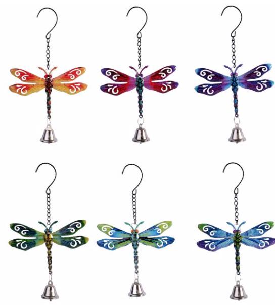Garden Bell - Dragonfly