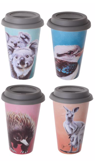 Australian Animals Travel Mug