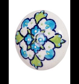 Doorknob Cerise Ceramic
