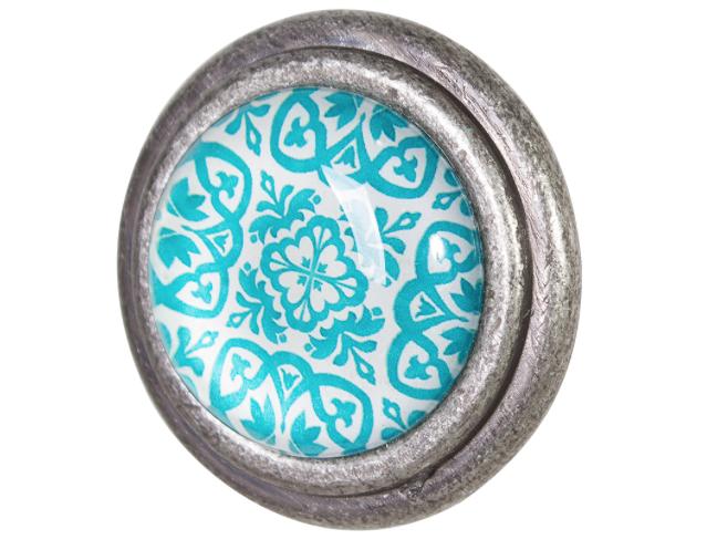 Doorknob Skye Metal Glass