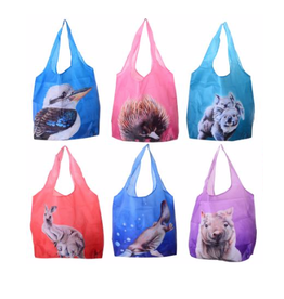 Australian Animals Pocket Shopping Bag