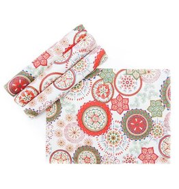 Placemats Set/4 – Wildflower Red