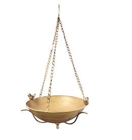 Metal Hanging Bird Bath