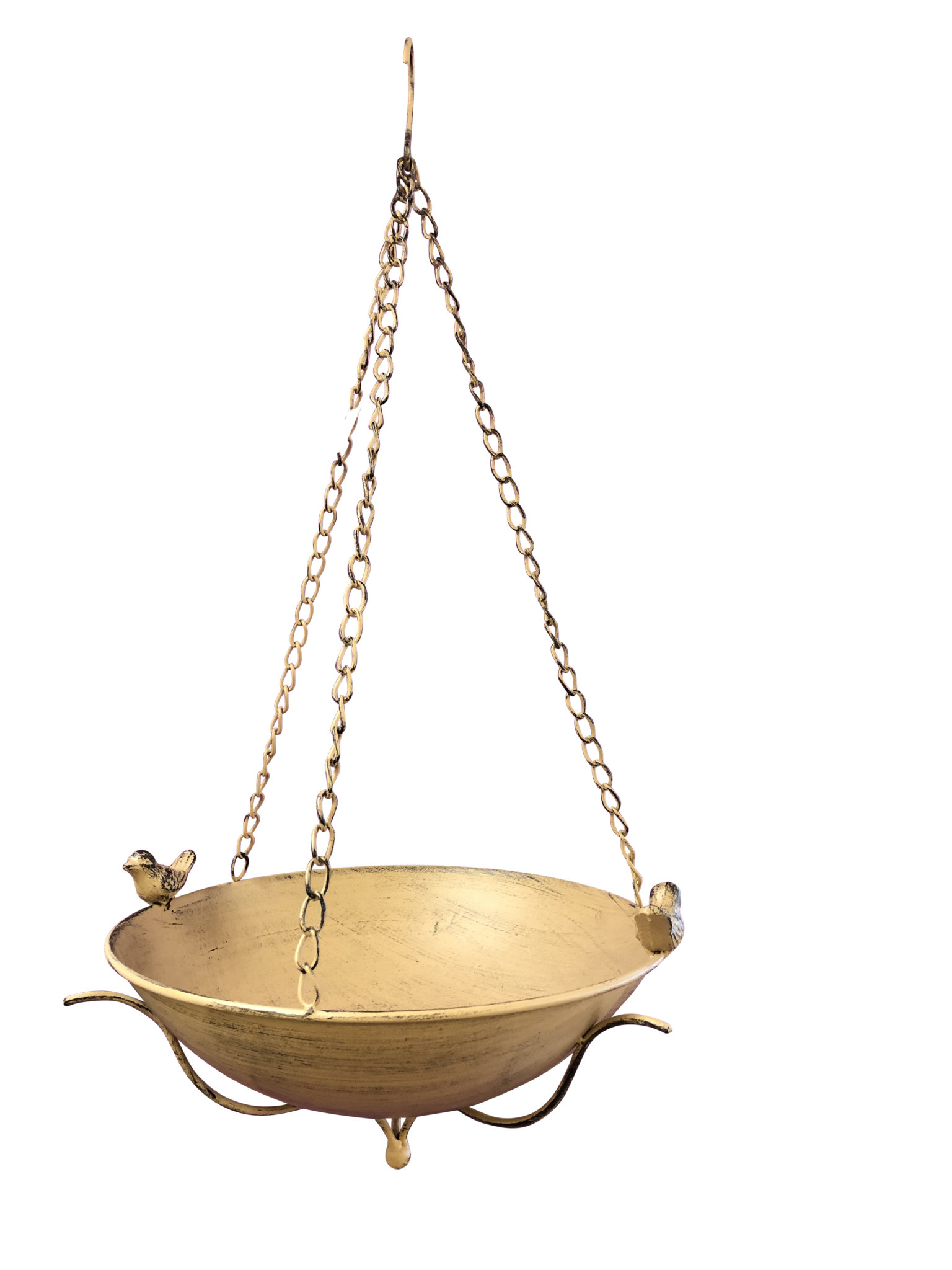Metal Hanging Bird Bath