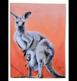 Australian Animal Tea towel
