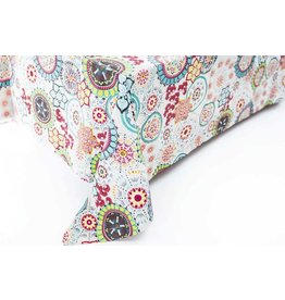 Wildflower Blue Tablecloth