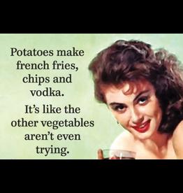 Fridge Magnet Potatoes