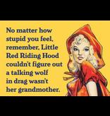 Fridge Magnet Red Riding Hood