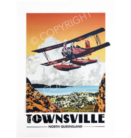 Townsville Poster Red Baron