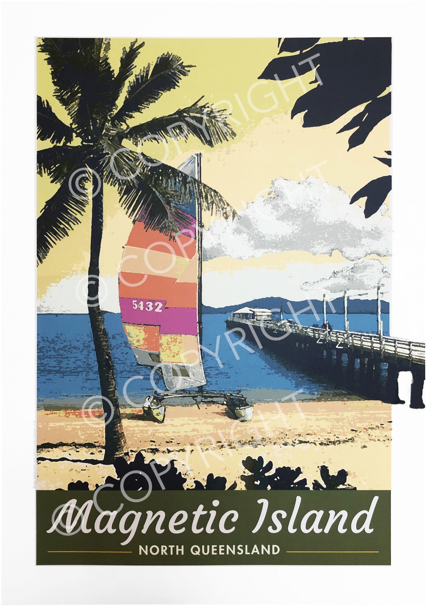 Townsville/Magnetic Island Picnic Bay Poster