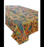 Tablecloth - Paisley Burnt Orange