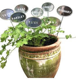 Pot Gardening Herb Labels