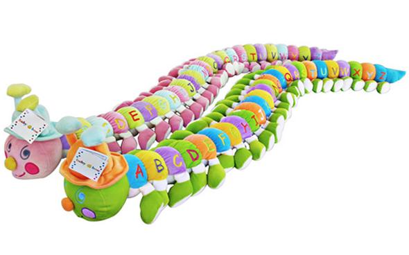 Giant Alphabet Caterpillar - L698