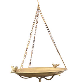 Metal Hanging Bird Feeder - Medium