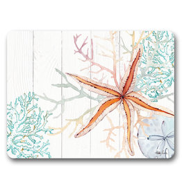 Placemats Set/6 - Starfish and Coral