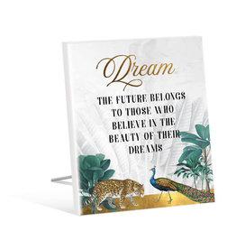 Dream Jungle Sentiment Plaque