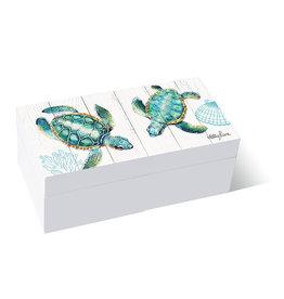 Wooden Box Turtles