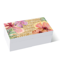 Wooden Box Hibiscus