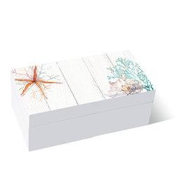 Wooden Box Starfish