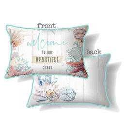 Cushion with Ocean Design