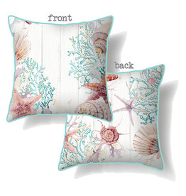 Cushion with Reef Design