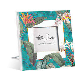 Photo Frame Lush Flowers