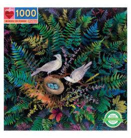 Jigsaw Puzzle- Birds in Fern