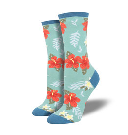 Ladies Socks- Aloha