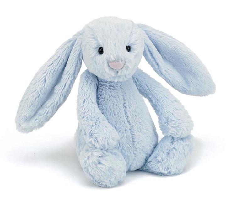 Toy - JellyCat Bashful Blue Bunny Medium