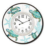 Clock with Turtle Design (Large)
