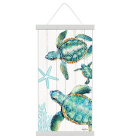 Canvas Scroll - Turtles