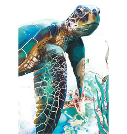 Canvas Scroll - Turtle (Large)