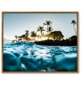 Framed Canvas - Island Dreams