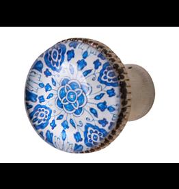 Doorknob - Lyra Metal Glass