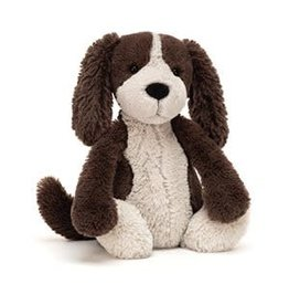 Toy - JellyCat Bashful Fudge Puppy Medium