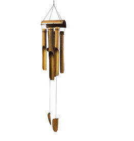 Bamboo Wind Chime Medium