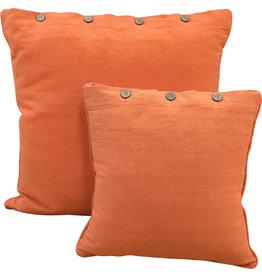 Cushion Cover - Citrus Orange