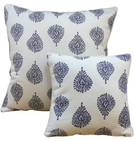 Cushion Cover - Ornamental Blue