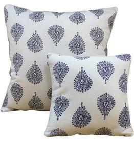 Cushion Cover - Ornamental Blue