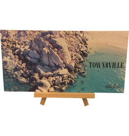 Sentiment Plaque Townsville with Stand