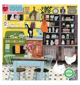 Jigsaw Puzzle- Kitchen Chickens