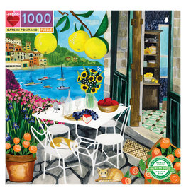 Jigsaw Puzzle- Cats in Positano