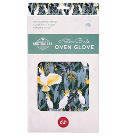 Reuseable Australian Birds Oven Glove