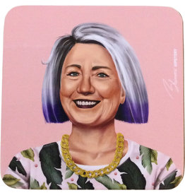 Coaster of Hipster Hilary