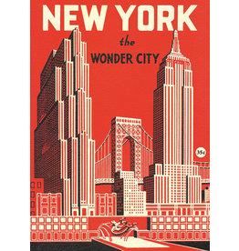 Poster New York Wonder City