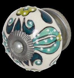 Doorknob - Jungle Ceramic