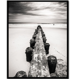 Framed Canvas - Old Jetty